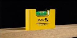 Kieszonkowa poziomnica STABILA dla elektryków SA17775