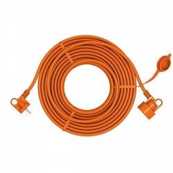 Przedłużacz ogrodowy uniwersalny 2X1,0 H05VV-F (PVC) prosty ACAR EASY 15m
