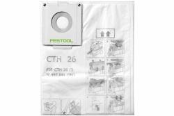 Zabezpieczające worki filtrujące Festool FIS-CTH 26/3 497541