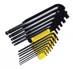 Zestaw imbusów kluczy sześciokątnych długich Stanley 12szt. 0-69-257