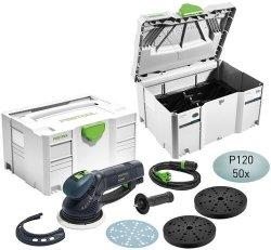 Przekładniowa szlifierka mimośrodowa Festool ROTEX RO 150 CAMP-Set 575967