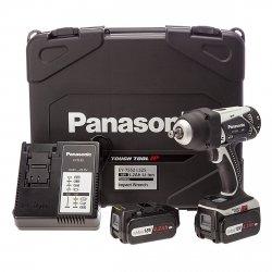 Klucz udarowy Panasonic 18V/4,2Ah, 2 aku. + walizka EY 7552 LJ2S