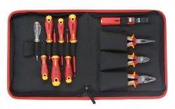 Zestaw 11 narzędzi dla elektryka FELO w etui 41391104