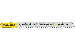 Brzeszczot Metabo drewno seria professional 74 / 2,5 mm TYP T101B  623703000