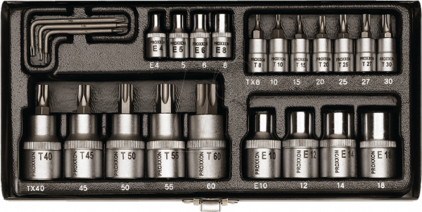 Zestaw kluczy TORX Proxxon kpl. 23 cz. 23102