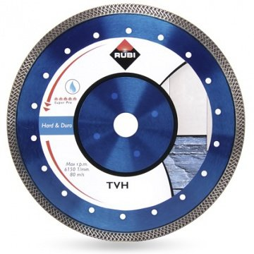 Rubi TVH 350 SUPERPRO (31939), Tarcza diamentowa do materiałów twardych