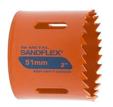 Bahco piła otworowa bimetaliczna SANDFLEX 86mm  /3830-86-VIP/