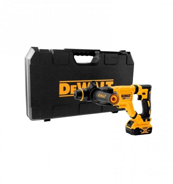 Młotowiertarka akumulatorowa 3-funkcyjna DeWalt DCH263P1 18V 3J SDS-Plus