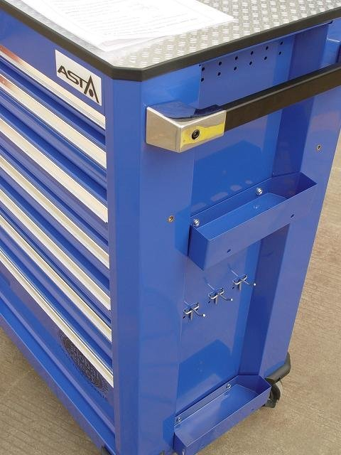 Szafka narzędziowa serwisowa Satra kat. SATRA4007GB z zestawem 232 elementów