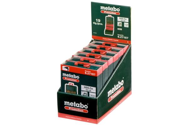 Zestaw wierteł kobaltowych Metabo HSS-Co 1-10mm 627157000