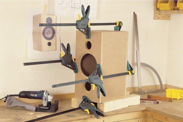 Ścisk jednoręczny Wolfcraft EHZ PRO 100-700mm 3033000