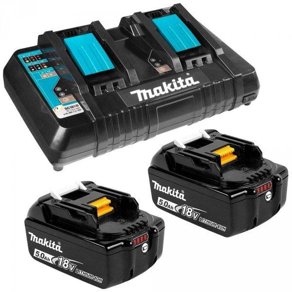 Zestaw combo Makita 4 narzędzia 4x5.0Ah 18V