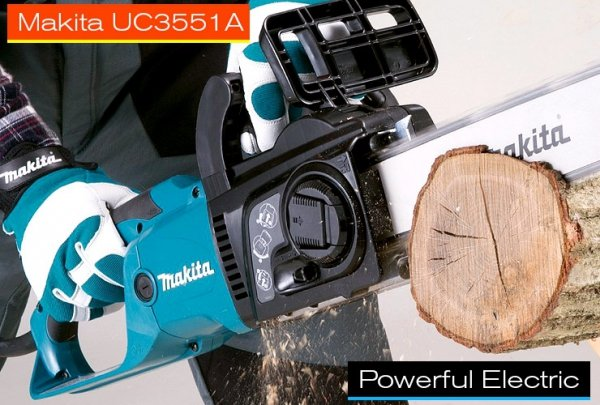 Pilarka łańcuchowa elektryczna Makita UC3551A 2000W 35cm