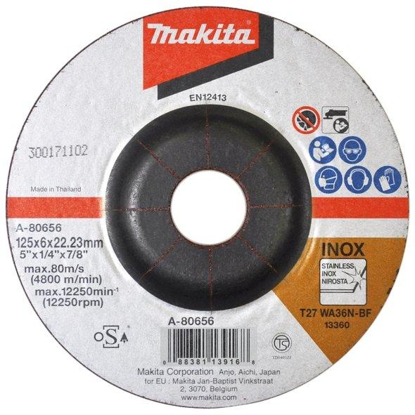 Szlifierka kątowa Makita DGA506ZJ 125 mm BL 18V