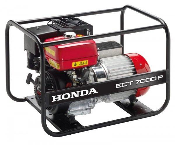 HONDA ECT7000P Agregat prądotwórczy  z GX390 230/400V 7,0 kVA