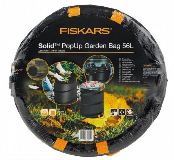Kosz na liście PopUp Fiskars 56l Solid 1015646