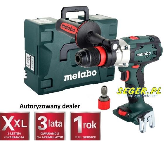 Akumulatorowa wiertarko-wkrętarka z udarem Metabo SB 18 LTX  Quick , 18 V