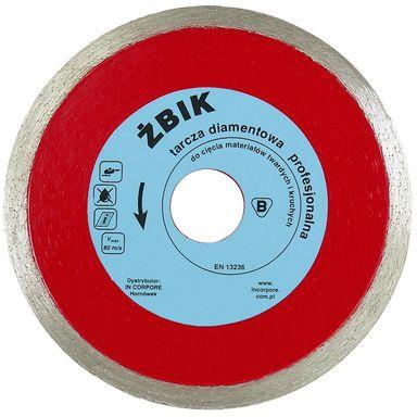 Profesjonalna tarcza diamentowa ŻBIK 230mm