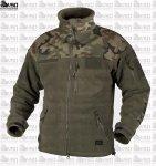HELIKON Infantry Duty Fleece Jacket Oliv/WZ