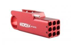 Mini granatnik Zoxna - czerwony