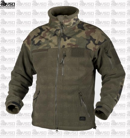 HELIKON Infantry Duty Fleece Jacket Oliv/WZ