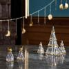 Holmegaard CHRISTMAS Świąteczna Choinka Dekoracyjna 19 cm Złota