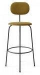 Menu AFTEROOM Krzesło Barowe 102 cm Hoker Czarny Tapicerowany - Tkanina City Velvet CA7832/060