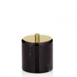 Kela LIRON Marmurowy Pojemnik Kosmetyczny - Czarny Marmur