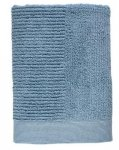 ZONE Denmark CLASSIC Ręcznik 140x70 cm Niebieski Blue Fog