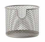 ZONE Denmark BASKET Metalowy Pojemnik - Koszyk do Przechowywania 12 cm Taupe