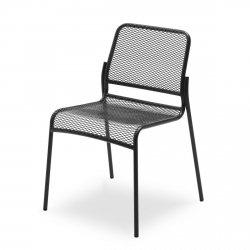 Skagerak MIRA Krzesło Ogrodowe - Czarne