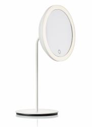 ZONE Denmark SIMPLY Powiększające Lusterko Kosmetyczne z Podświetleniem - Białe