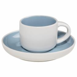 Maxwell Williams TINT Filiżanka do Kawy Espresso 100 ml Jasnoniebieska