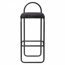 AYTM - ANGUI Hoker - Krzesło Barowe 82,5 cm Czarny