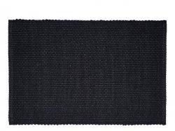 Sodahl GRAIN Bawełniana Podkładka na Stół pod Talerze 33x48 cm Czarna