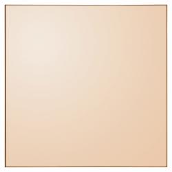 AYTM - QUADRO Lustro Ścienne Kwadratowe Amber - Tafla w Odcieniu Burszytnowym