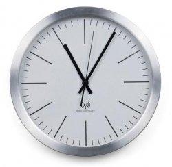 Scandinavia LIVING Zegar Ścienny Sterowany Radiowo 30 cm Biały