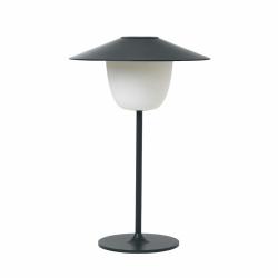 Blomus ANI Bezprzewodowa Lampa LED 2w1 Stołowa/Wisząca - Magnet (Odcień Grafitowy)