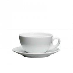 Cilio ROMA Filiżanka ze Spodkiem do Kawy 100 ml - Biała