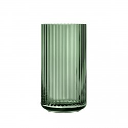 Lyngby Porcelain LYNGBY Wazon Szklany 20 cm Zielony