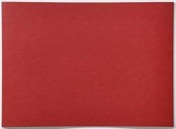 ZONE Denmark LINO Podkładka z Linoleum pod Naczynia - Czerwona