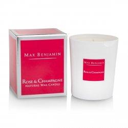 Max Benjamin CLASSIC Świeca Zapachowa 190 g Rose & Champagne