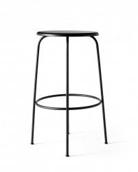 Menu AFTEROOM Stołek Krzesło Barowe bez Oparcia 75 cm - Hoker Czarny