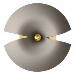 Aytm CYCNUS Kinkiet Ścienny 30 cm Taupe / Złoty