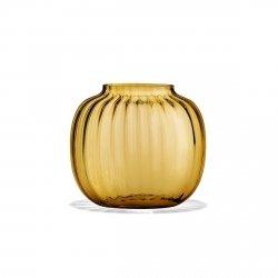 Holmegaard PRIMULA Wazon do Kwiatów 12,5 cm Żółty Amber
