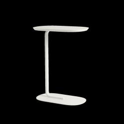 Muuto RELATE Stolik Pomocniczy - Boczny 73,5 cm Biały