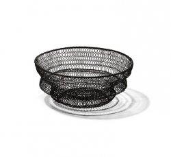 Philippi FLEX Składany Kosz na Owoce 22 cm Czarny