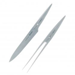 Chroma TYPE 301 Nóż i Widelec do Mięs 2 El.
