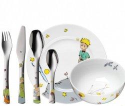 WMF Zestaw dla Dzieci - Sztućce + Porcelana 6 El. - Mały Książe