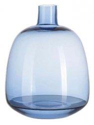 A Simple Mess SVAER Szklany Wazon do Kwiatów 22 cm Niebieski